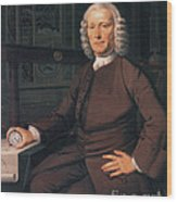 John Harrison, English Inventor Wood Print by Photo Researchers