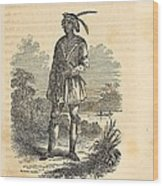 John Horse Was Born In 1812 In Florida Wood Print by Everett