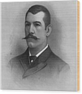 John L. Sullivan Wood Print