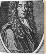 John Locke, English Philosopher, Father Wood Print by Science Source