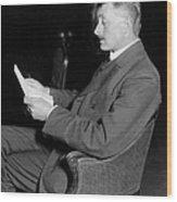 John Masefield (1878-1967) Wood Print