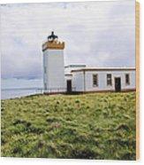 John O Groats Lighthouse Wood Print