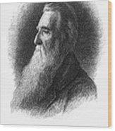 John Ruskin Wood Print