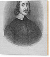 John Winthrop The Younger Wood Print