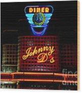 Johnny D's Wood Print