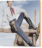 Johnny Guitar, Joan Crawford, 1954 Wood Print