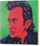 Johnny Pop Wood Print by Pete Maier