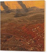 John's Canyon Road San Juan County Utah Wood Print