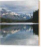 Johnson Lake Wood Print