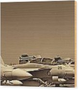 Joint Operations Squadron  Wood Print