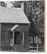Jones Law Office Appomattox Virginia Wood Print by Teresa Mucha