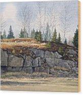 Jonesboro Cut Wood Print