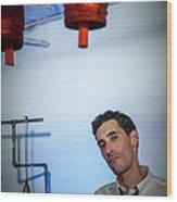 Jordan Mcclean Of Droid Wood Print