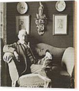 Joris Karl Huysmans Wood Print