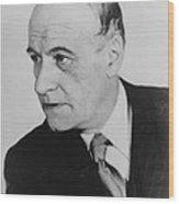 Jos� Ortega Y Gasset 1883-1955, Spanish Wood Print