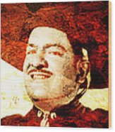 Jose Alfredo Jimenez Wood Print