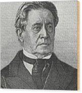 Joseph Henry, Us Physicist Wood Print