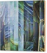 Journey Inward 1 Wood Print by Brigetta  Margarietta