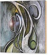 Joy Neoglyph Wood Print