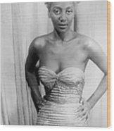 Joyce Bryant, African American Singer Wood Print
