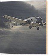 Ju52 -- Iron Annie Wood Print