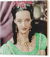 Juarez, Bette Davis, 1939 Wood Print by Everett