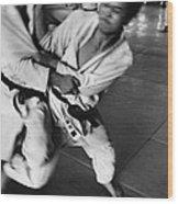 Judo Wood Print