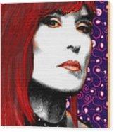 Judy Rose Wood Print