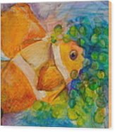 Juicy Snack IIi Wood Print