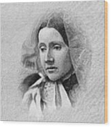 Julia Ward Howe (1819-1910) Wood Print
