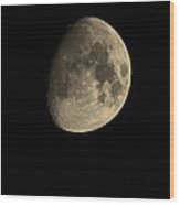 July 28th 12 Moon Wood Print