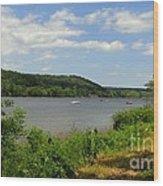 June Along The Connecticut River Wood Print