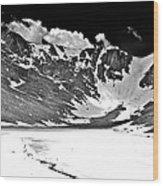 June At Summit Lake Wood Print