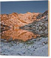 June Snowfall At Angel Lake Wood Print