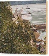 Juneau Alaska Wood Print