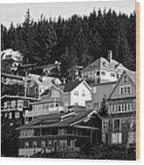 Juneau Homes Wood Print