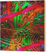 Jungle Love Wood Print