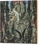 Jupiter And Semele Wood Print