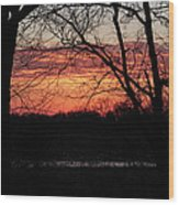Just A Little Bit Higher -- Sunrise Wood Print