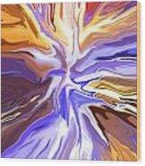 Just Abstract V Wood Print