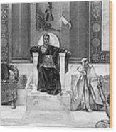 Justinian I (483-565) Wood Print