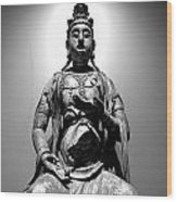 K-buddha Wood Print