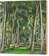 Kabune Wood Print