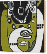 Kachina 1b Wood Print