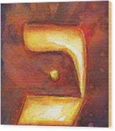 Kaf Wood Print
