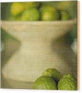Kaffir Limes Wood Print