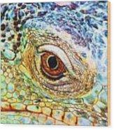 Kaleidescope Eye Wood Print