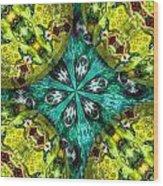 Kaleidocube 03 Wood Print