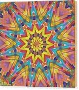 Kaleidoscope Series Number 7 Wood Print