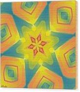 Kaleidoscope Series Number 8 Wood Print